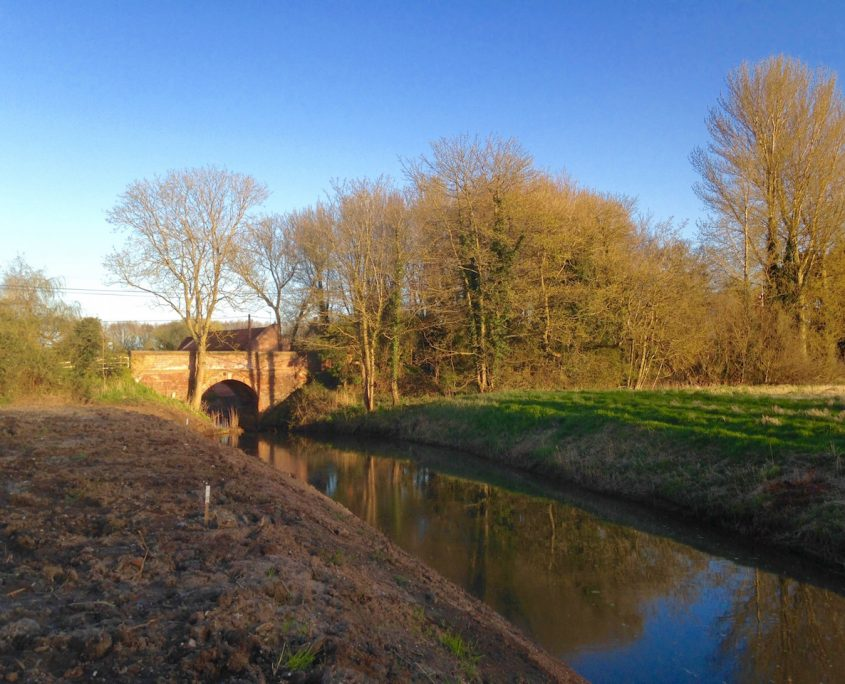 bridge at Swafield of North Walsham and Dilham Canal.